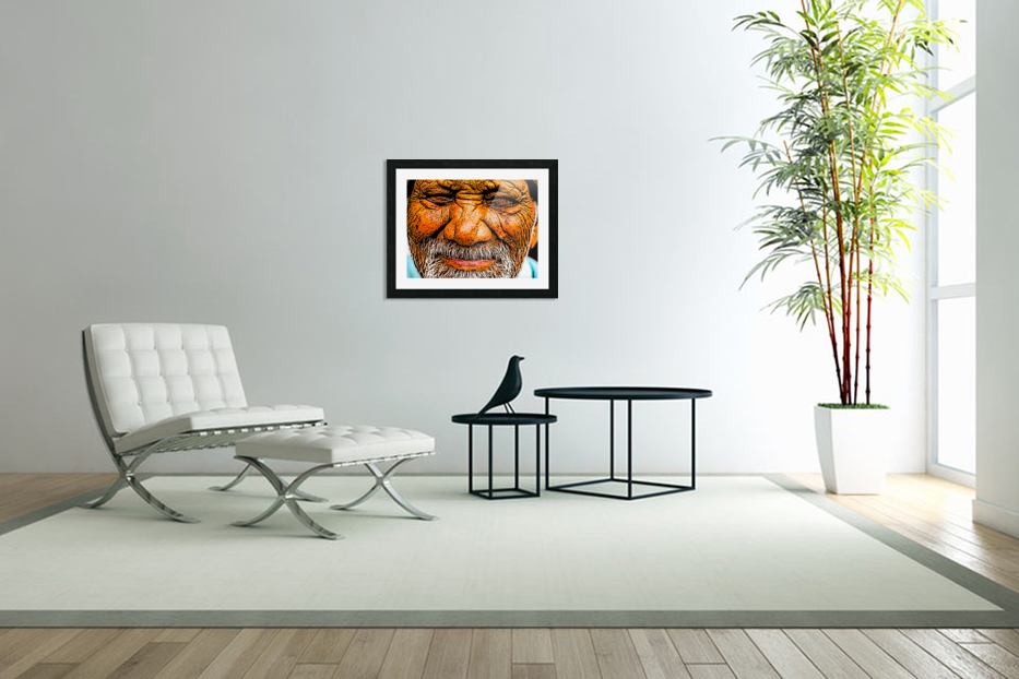 Squint in Custom Picture Frame