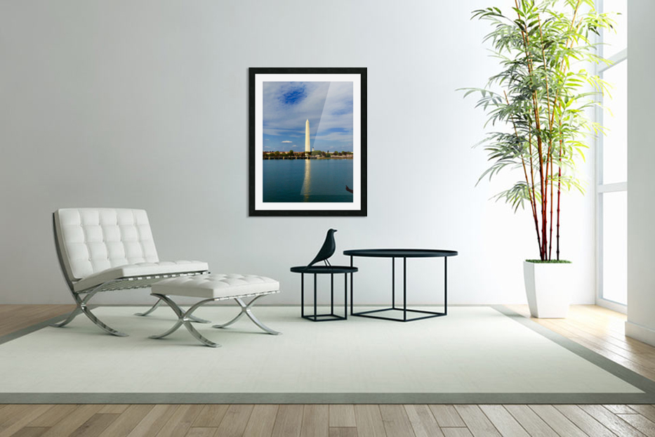 Washington Monument in Custom Picture Frame