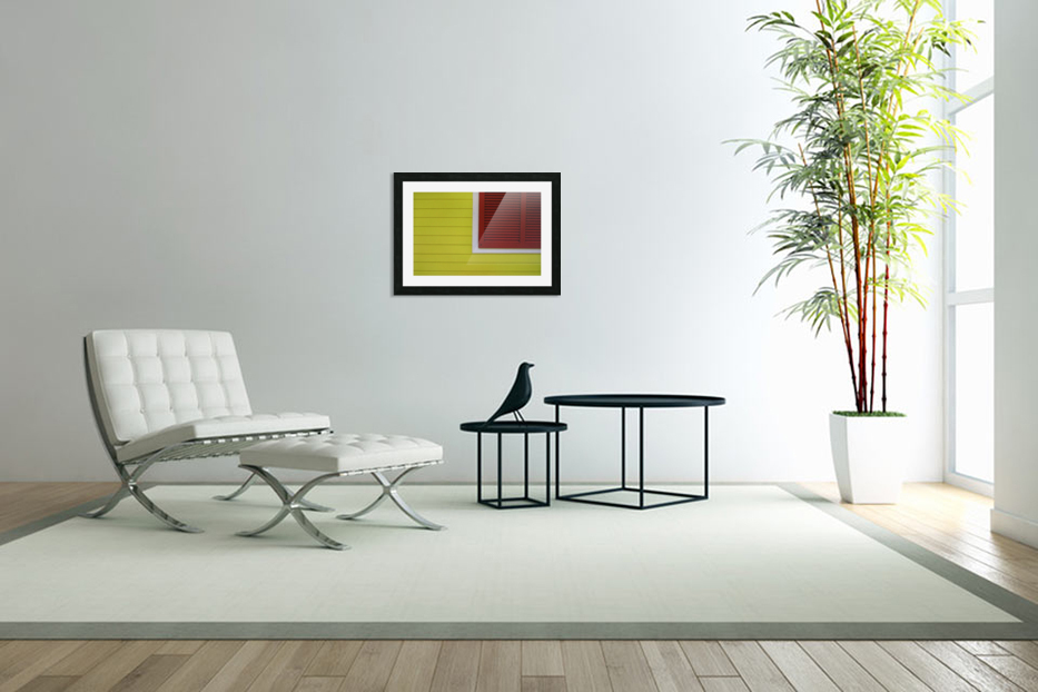 Abstract Art Print in Custom Picture Frame