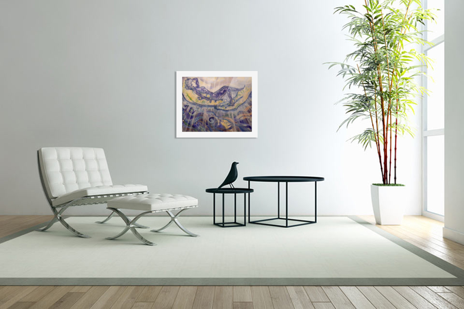 Relaxation in Custom Picture Frame