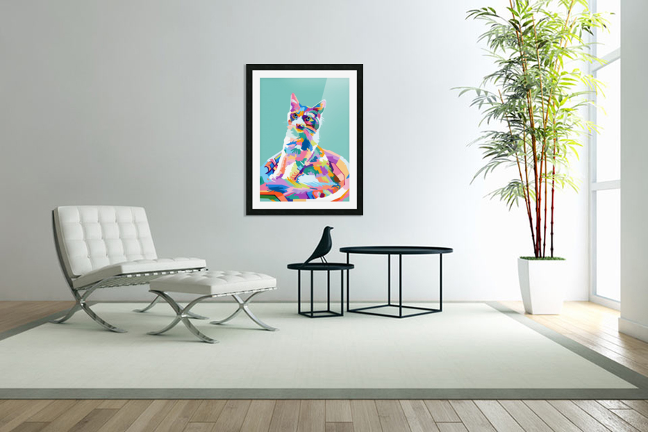 cats in Custom Picture Frame