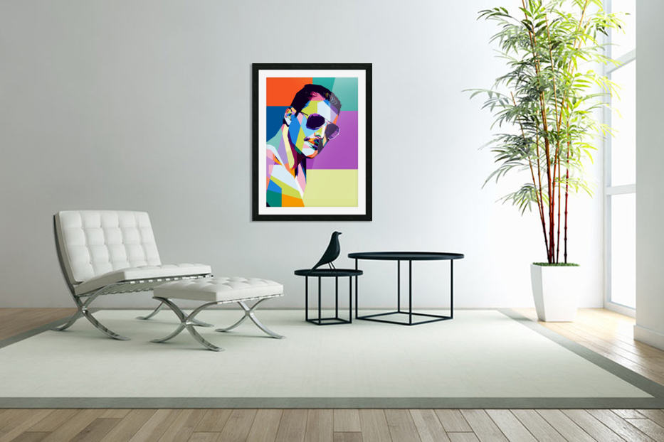freddie mercury in Custom Picture Frame