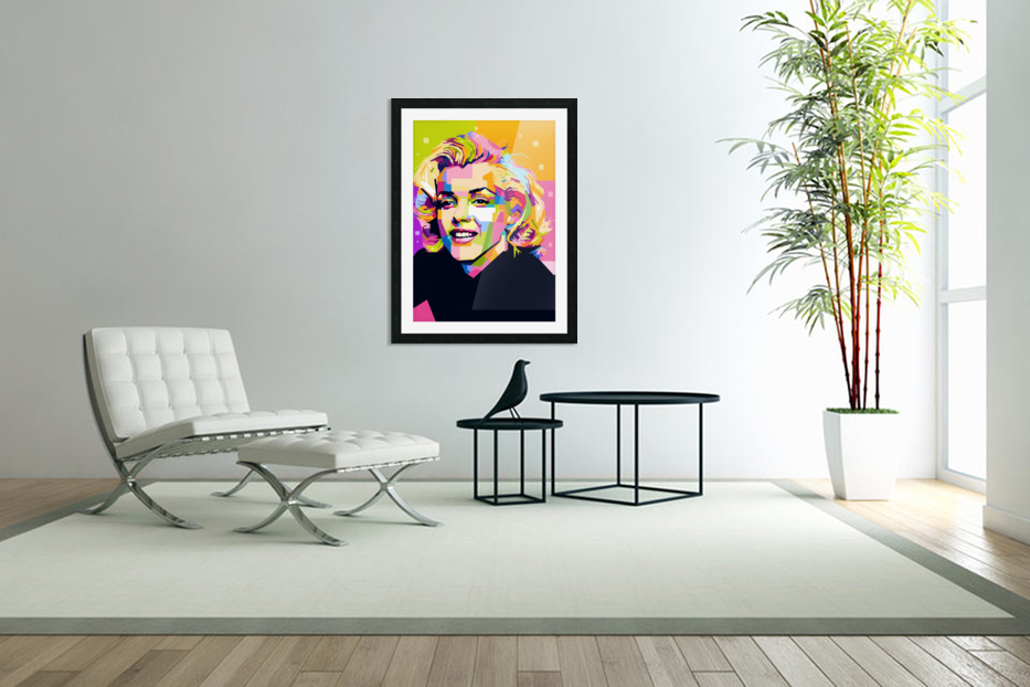 Marilyn Monroe in Custom Picture Frame