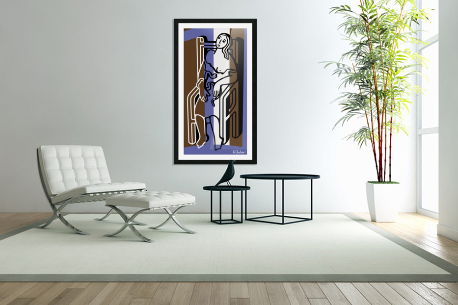 Death of Cleopatra in Custom Picture Frame