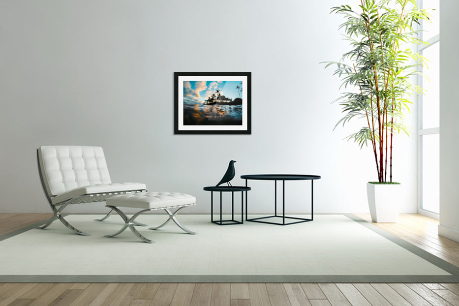 Lost at Sea in Custom Picture Frame