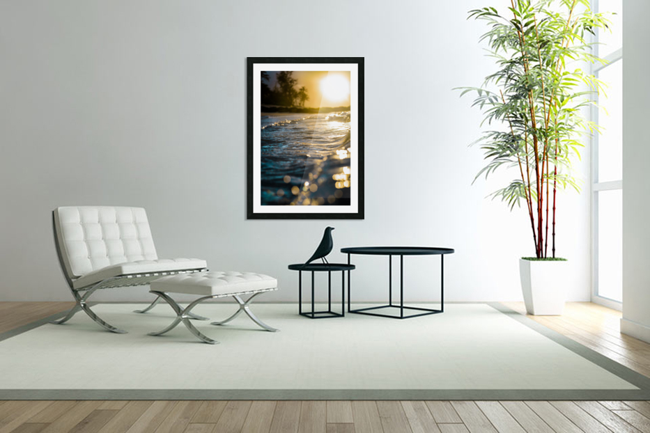 Glistening Waters in Custom Picture Frame