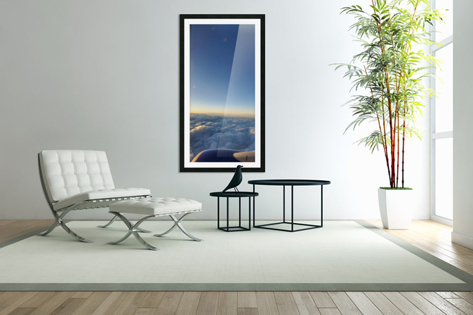 Above The Clouds in Custom Picture Frame