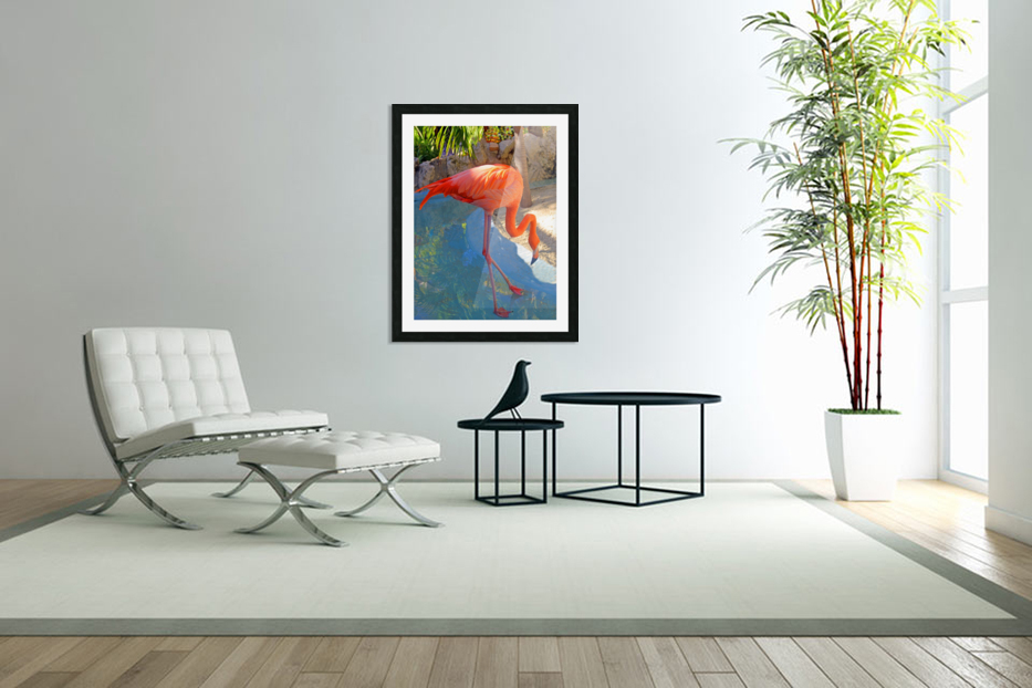 Living in Paradise in Custom Picture Frame