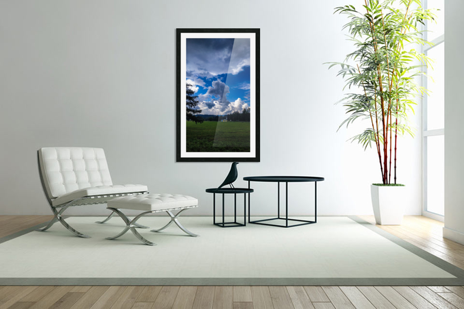 Stormy clouds in Custom Picture Frame