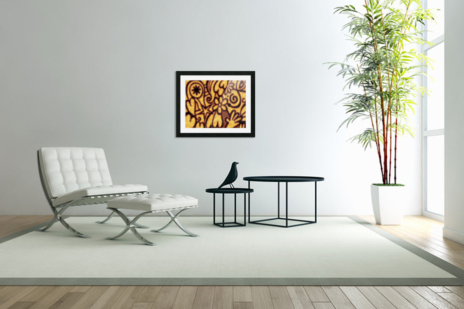 background pattern in Custom Picture Frame