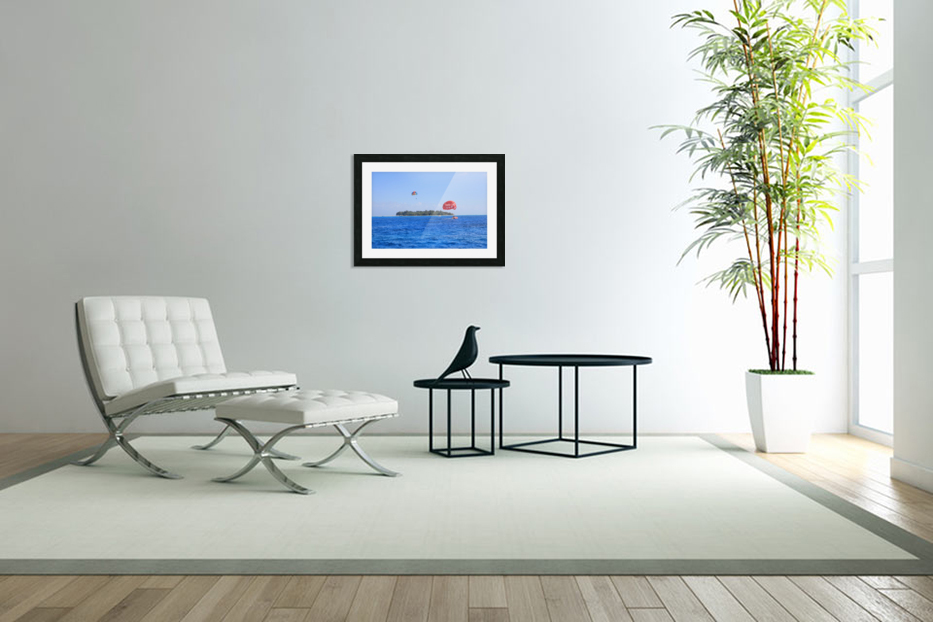 Parasailing in Custom Picture Frame