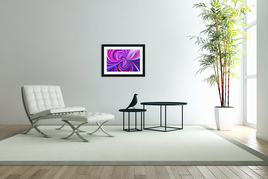 PERSPECTIVES 5D in Custom Picture Frame