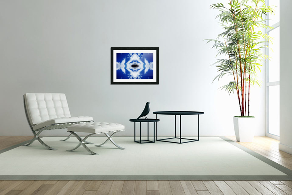 Cloudes 104 in Custom Picture Frame