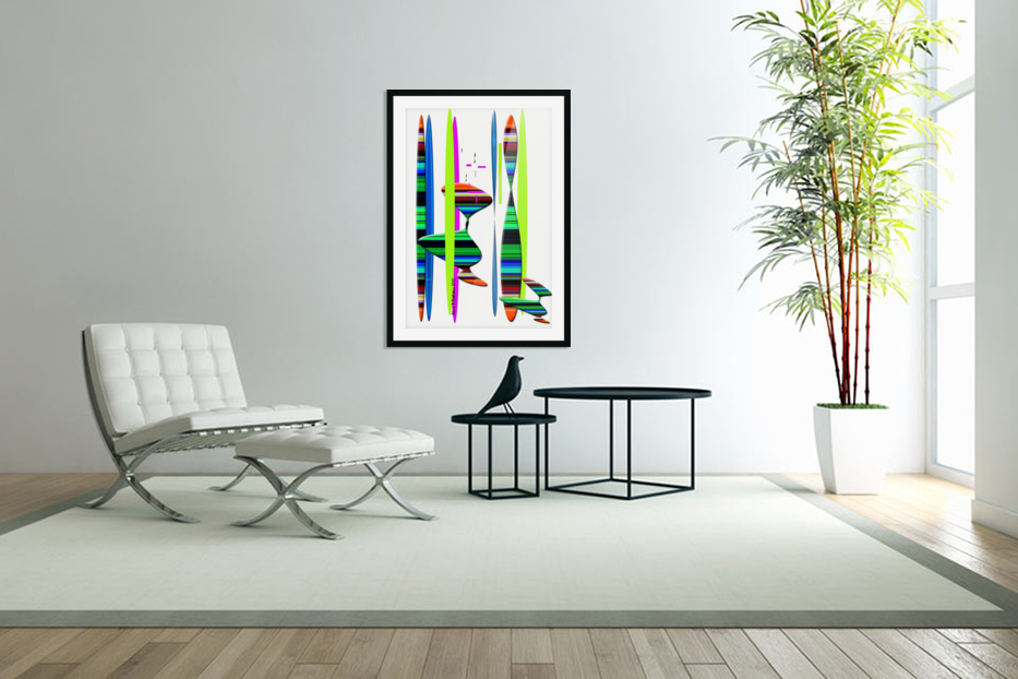 LINEAR 1 in Custom Picture Frame