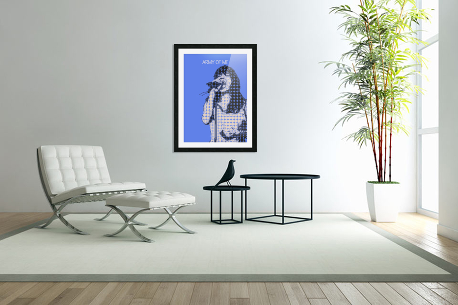 army of me   Bjork in Custom Picture Frame
