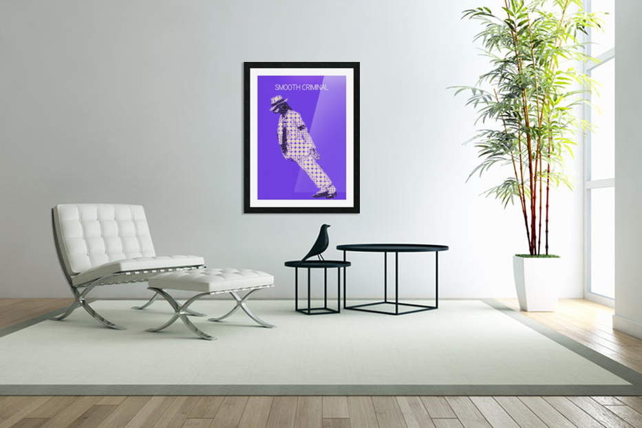michael jackson_Smooth Criminal in Custom Picture Frame