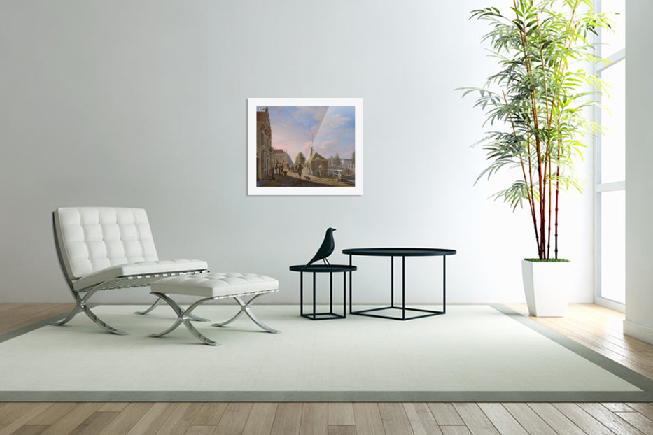 The Spui in The Hague in Custom Picture Frame