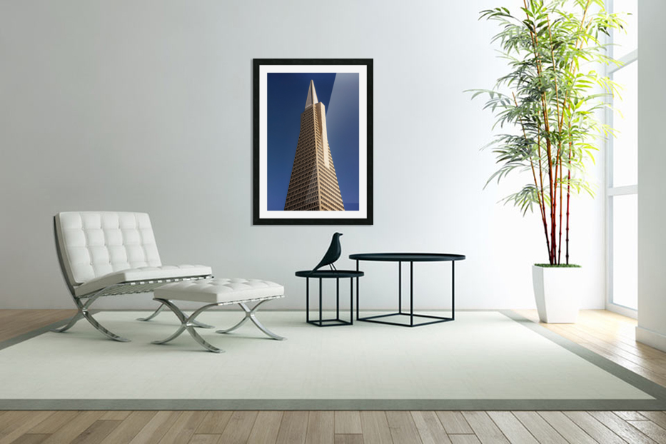 Transamerican Pyramid in Custom Picture Frame