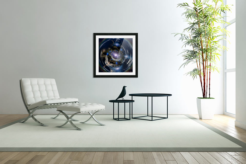 Angel in Tunnel in Custom Picture Frame