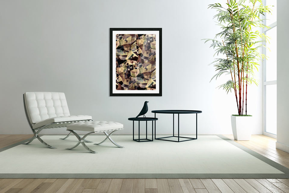 Oscillating  Magical Thoughts in Custom Picture Frame