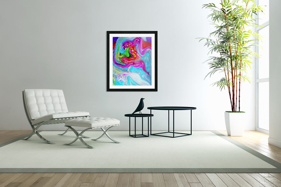Ethereal Pleasures in Custom Picture Frame