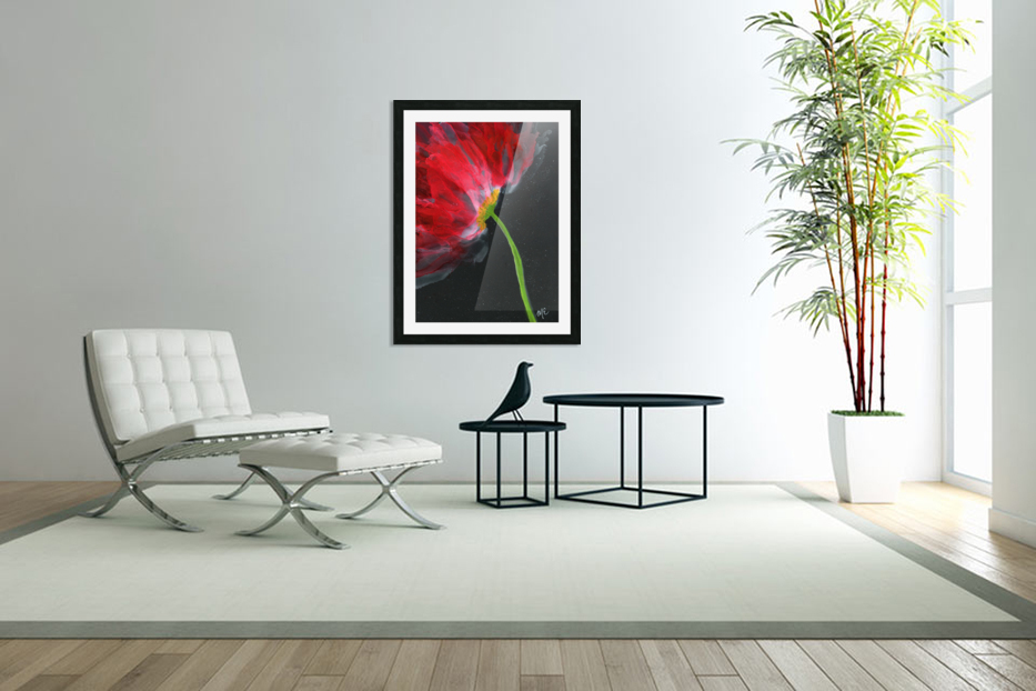 Fantastical Flower in Custom Picture Frame