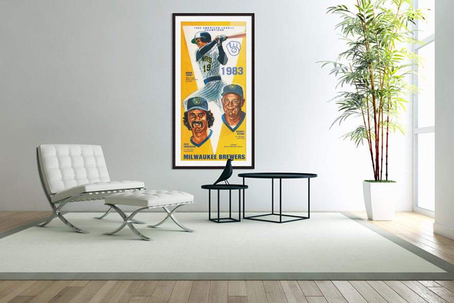 milwaukee brewers 1983 in Custom Picture Frame