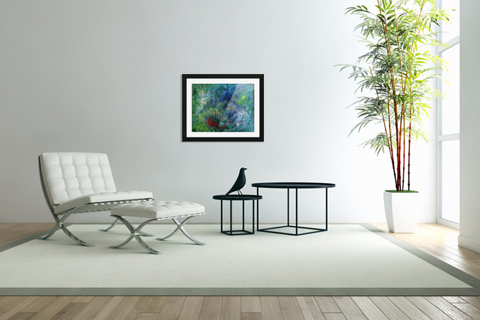 The Reef in Custom Picture Frame
