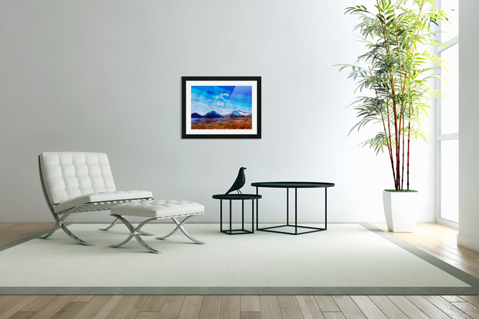 Nature View  in Custom Picture Frame