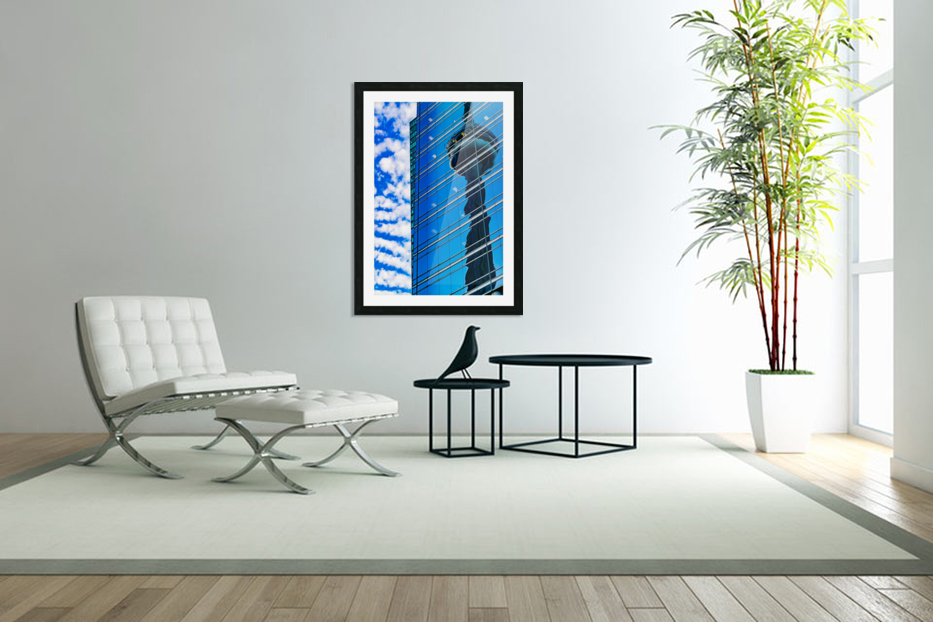 Shimmer In The 6ix in Custom Picture Frame