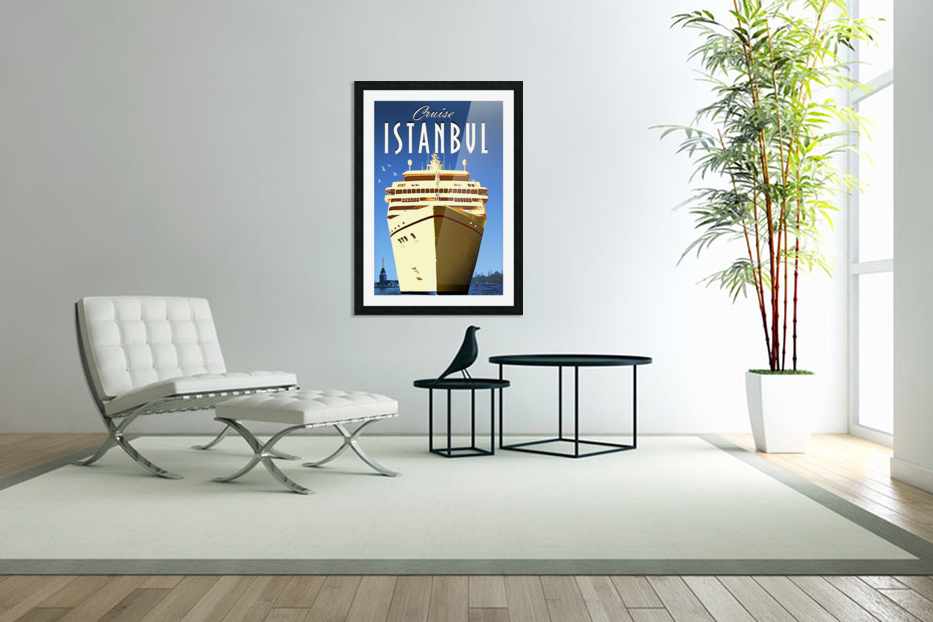 Cruise Istanbul in Custom Picture Frame