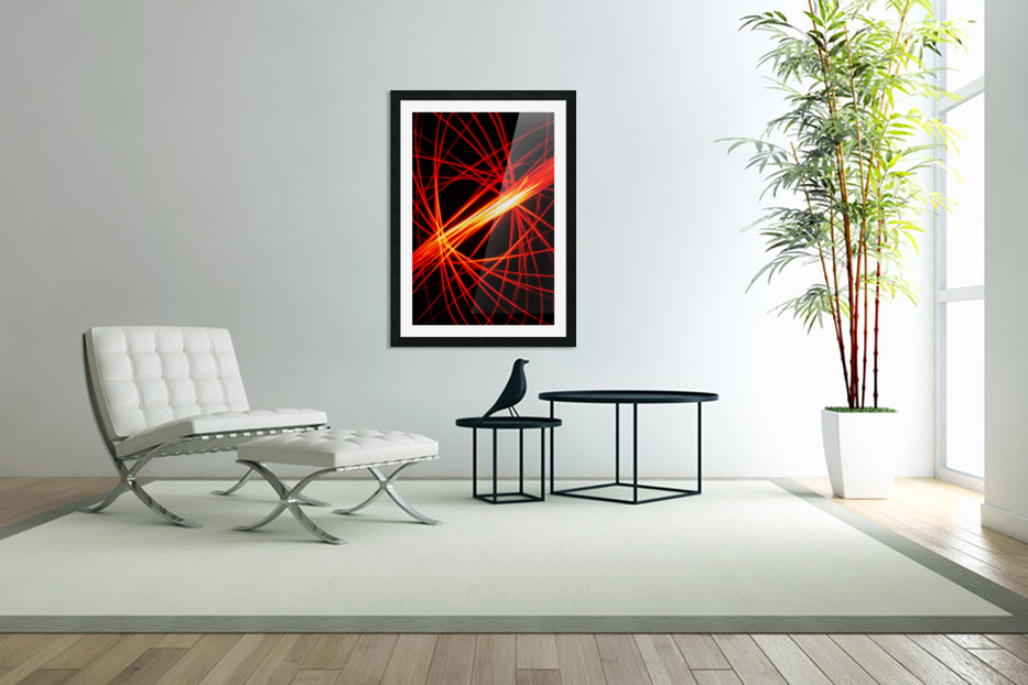 Electron Spin 1 in Custom Picture Frame