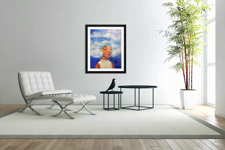 Head in the Clouds in Custom Picture Frame