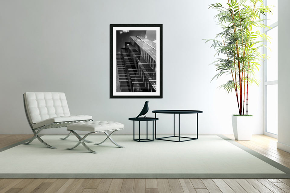 Step Up To The Sky in Custom Picture Frame