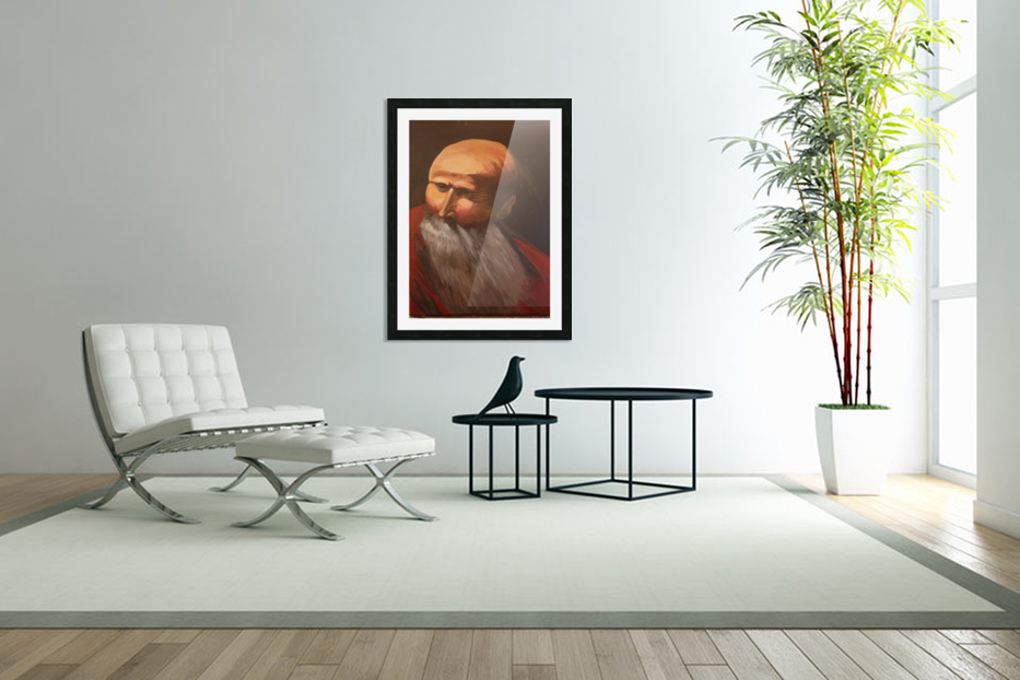 Abraham in Custom Picture Frame