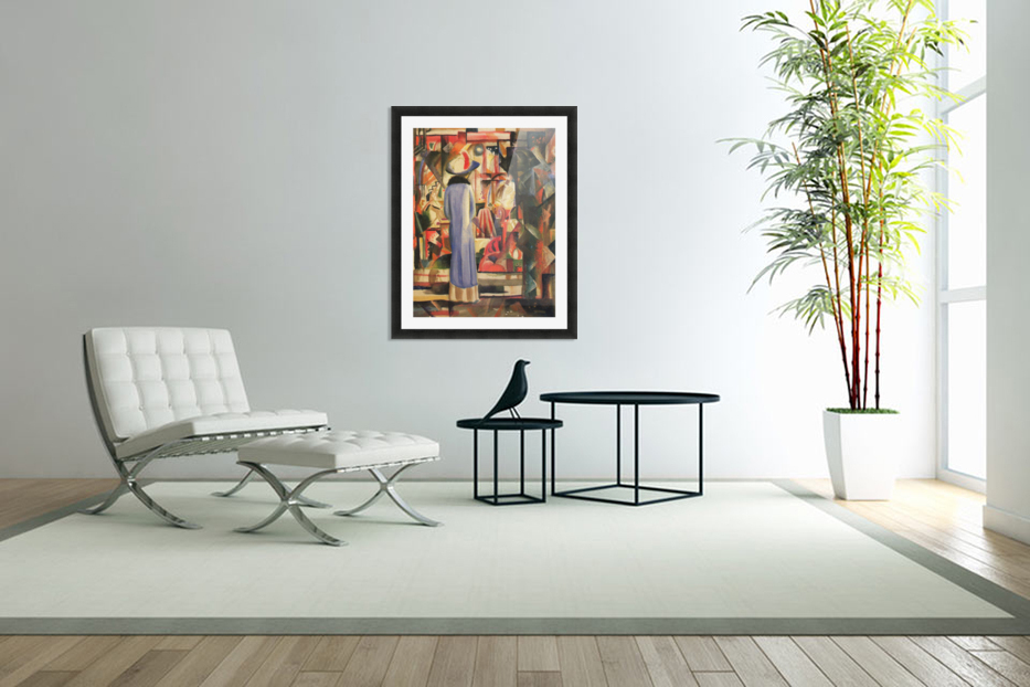 Large bright showcase by Macke in Custom Picture Frame