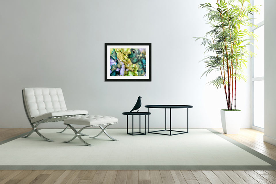 Forest Echoes in Custom Picture Frame