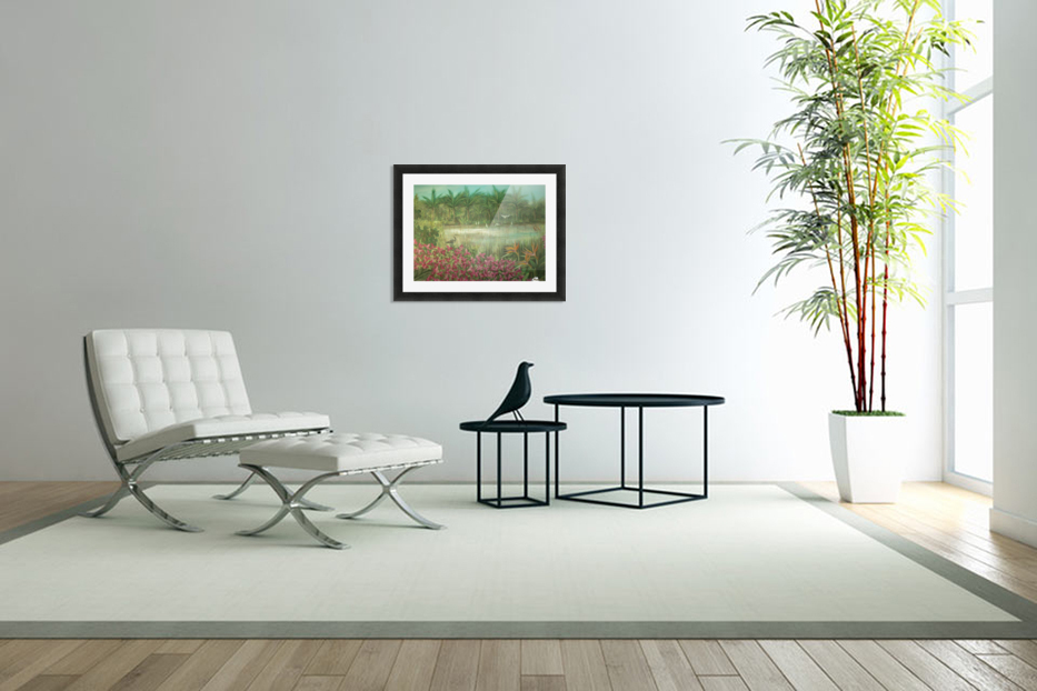 marshes  in Custom Picture Frame