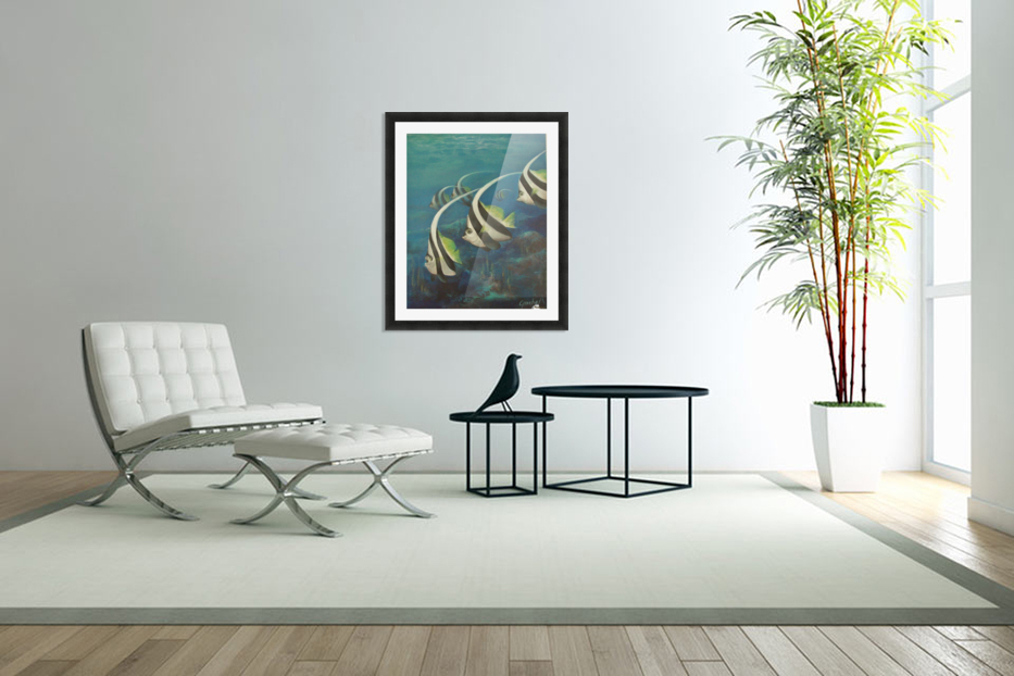 Coral Fish in Custom Picture Frame