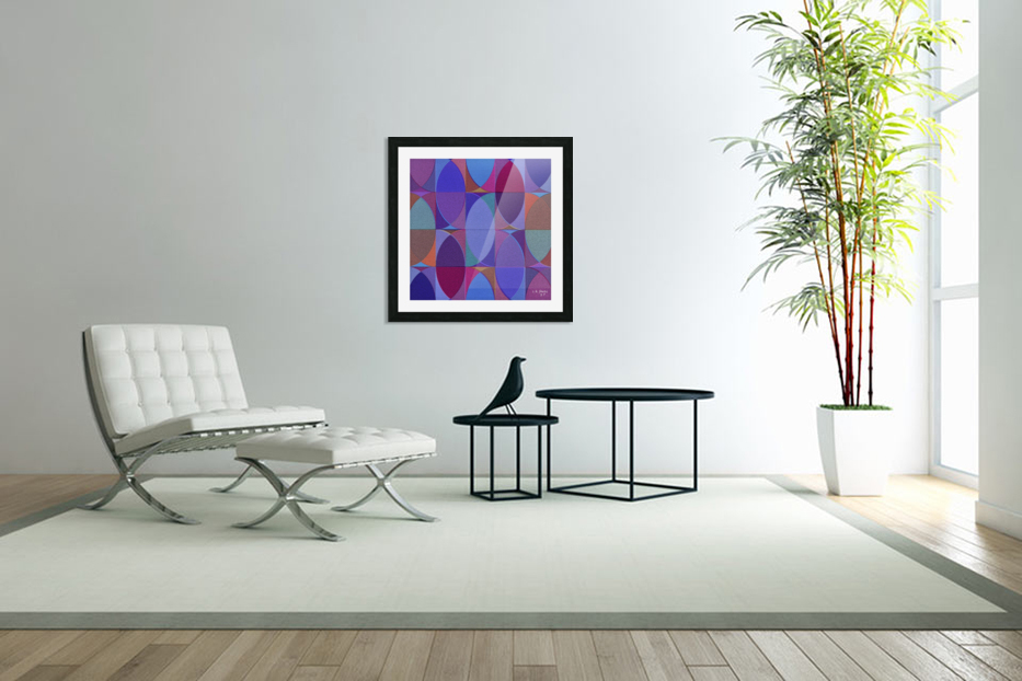 MIXART18 in Custom Picture Frame