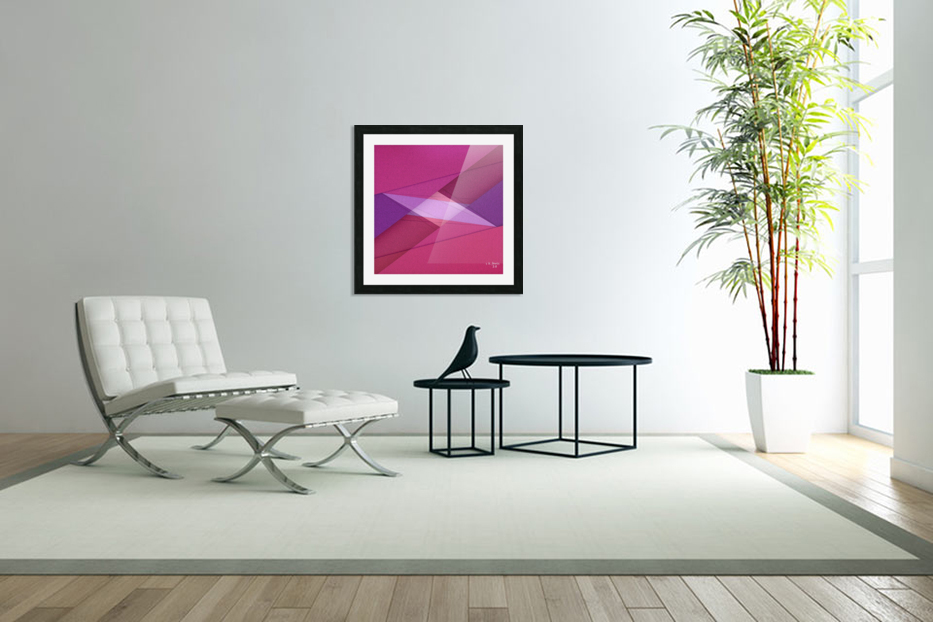 ABSTRACT ART 11 in Custom Picture Frame