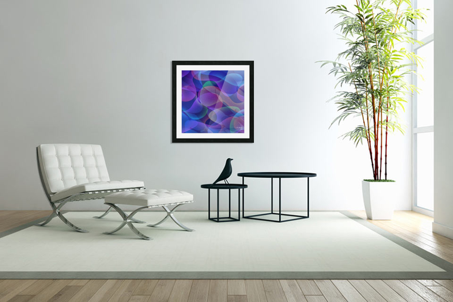 ABSTRACT ART 24 in Custom Picture Frame