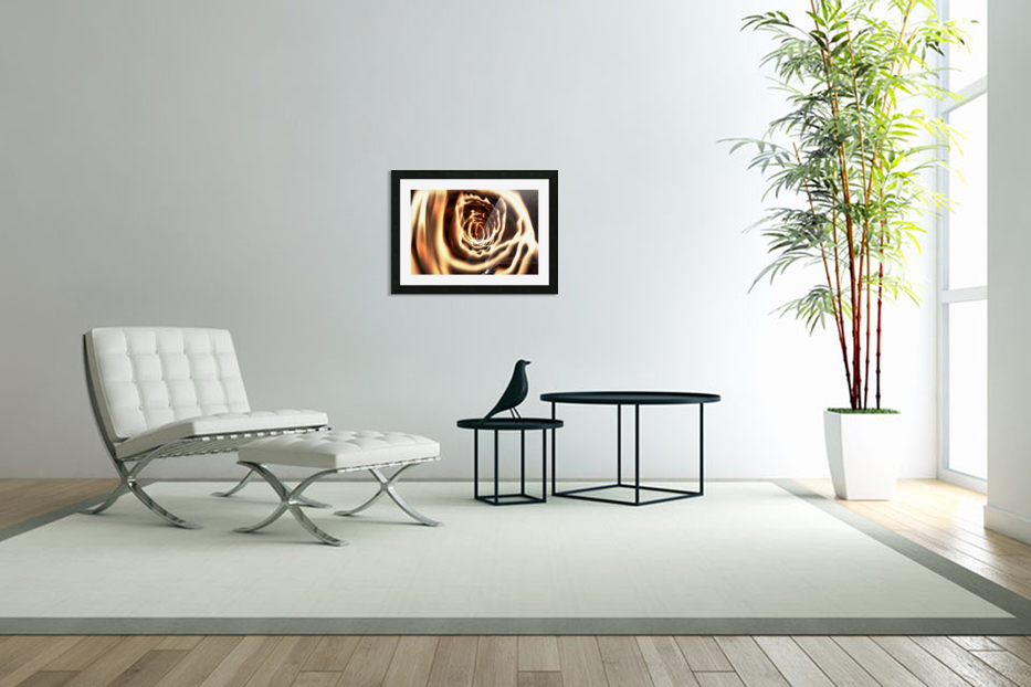 Fire tunnel in Custom Picture Frame
