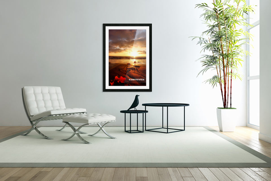 Sunrise fog your decor in Custom Picture Frame