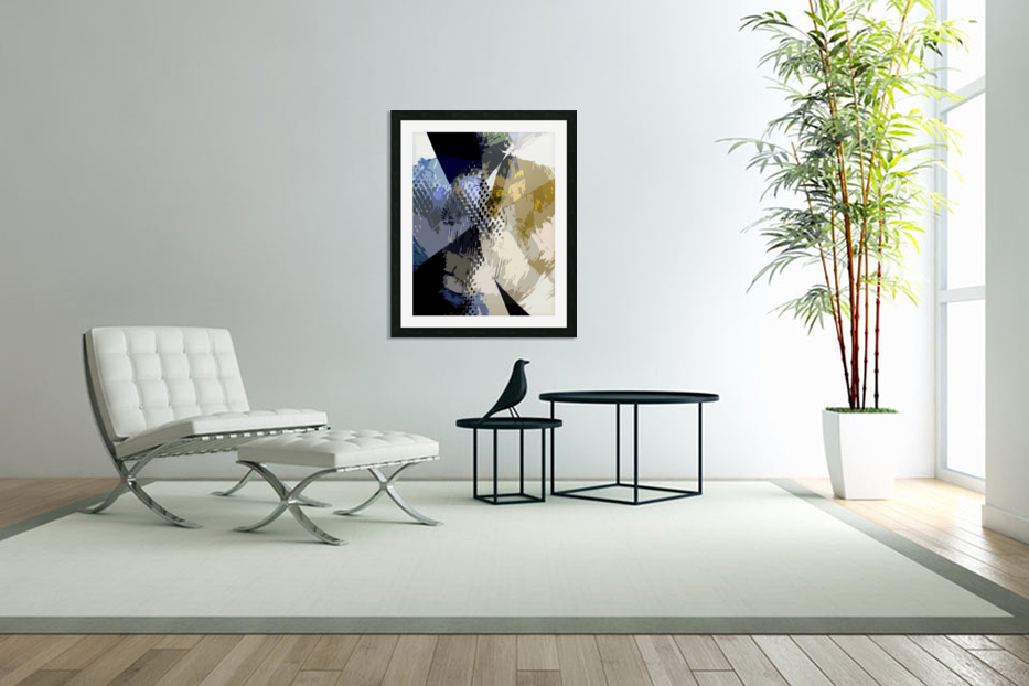 S H I A in Custom Picture Frame