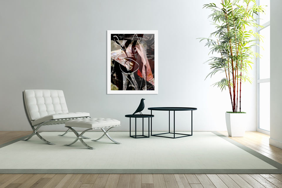 P A R I S in Custom Picture Frame