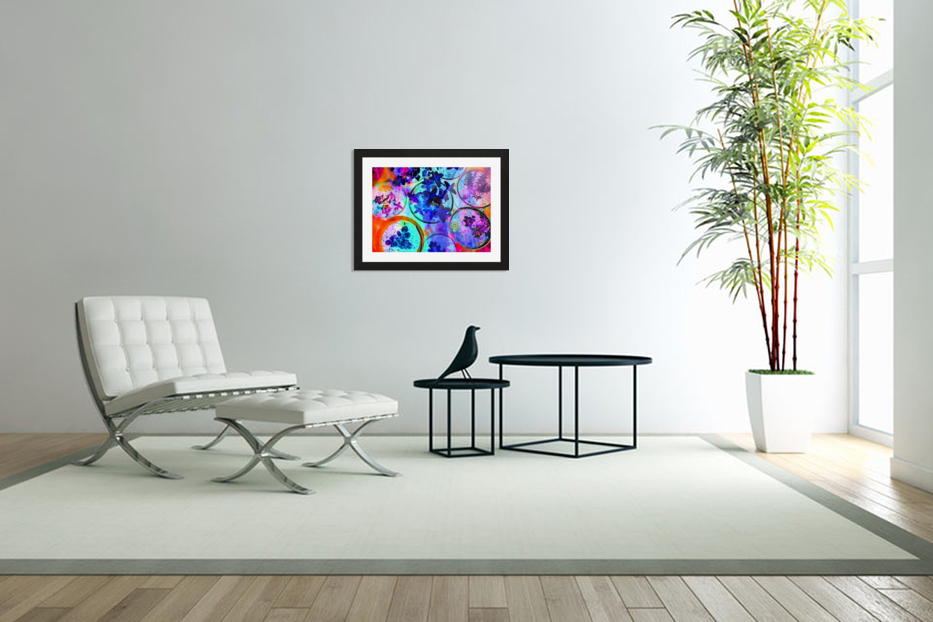 Psychedelic Herbs in Custom Picture Frame