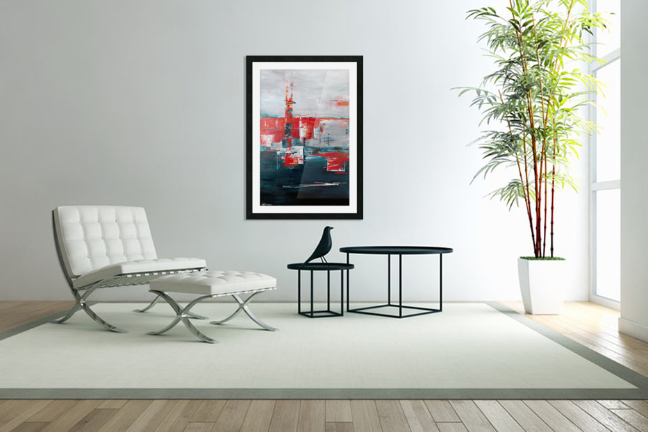 Urban Alley I in Custom Picture Frame