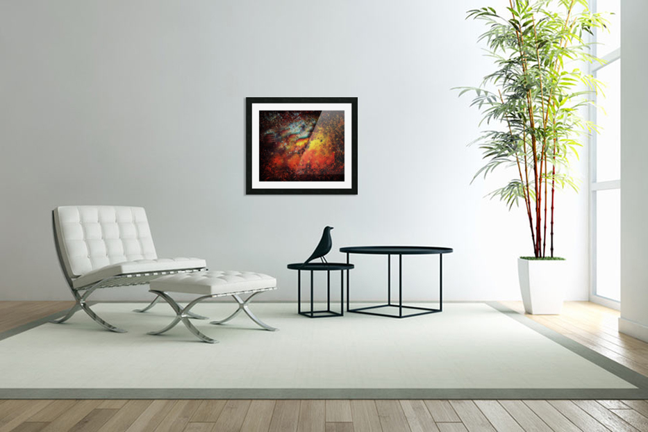 Untitled Abstract  in Custom Picture Frame