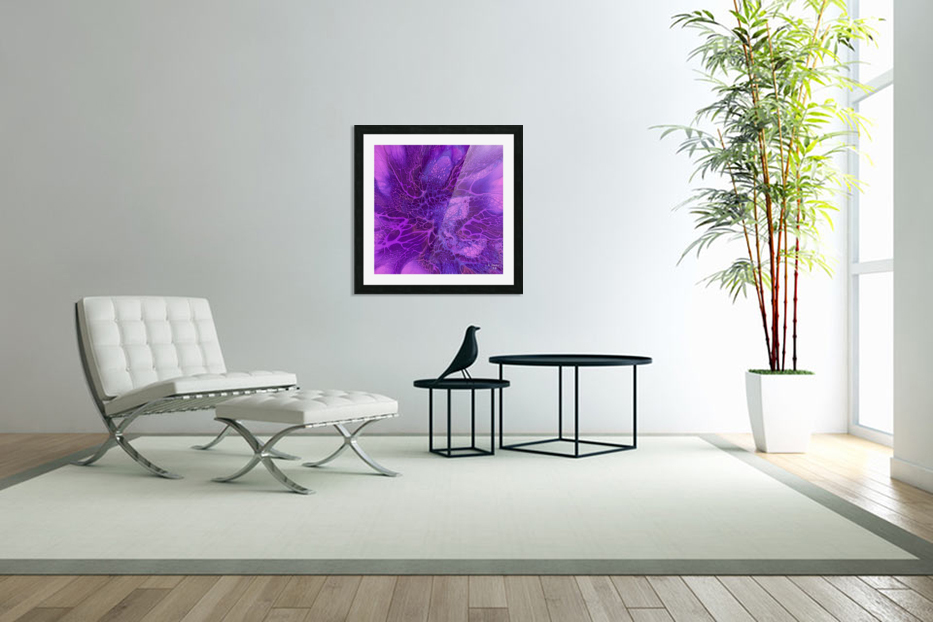 abstract b art17 in Custom Picture Frame